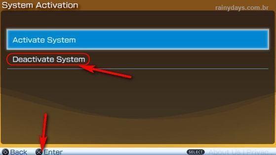 Desativar Conta da PSN no PSP e PS Vita