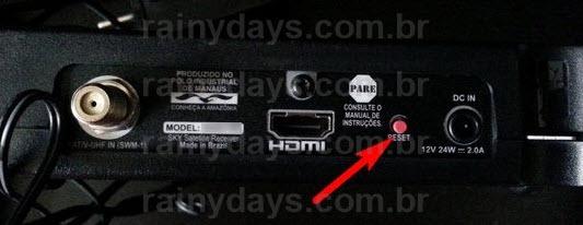 Forçar atualização HDTV Zapper Sky