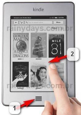 Tirar Foto da Tela do Kindle Touch