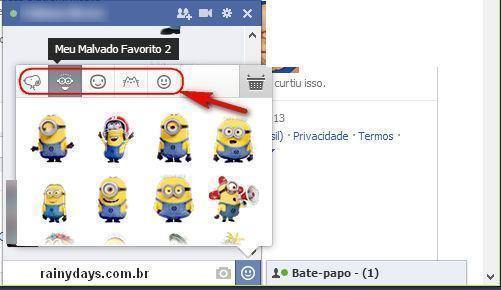 Baixar Emoticons para Facebook 3