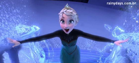 """""""Let It Go"""" Música de Frozen da Disney"""