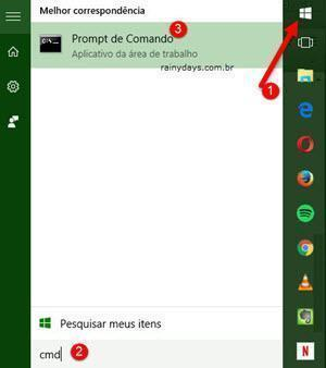 abrir Prompt de Comando Windows