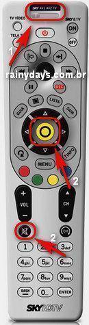 Codigos do Controle SKY HDTV