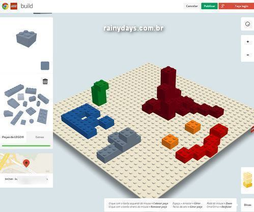 LEGO e Google criam Build para Chrome