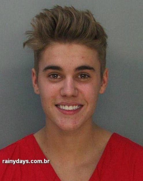 Mugshot do Justin Bieber 1