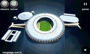 Tour Virtual pelos Estádios da Copa 2014