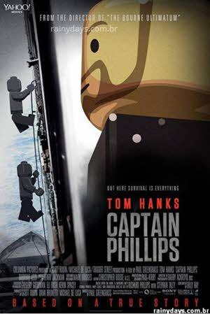 Capitào Phillips Tom Hanks Lego