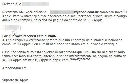 mudar email associado à Apple ID 4