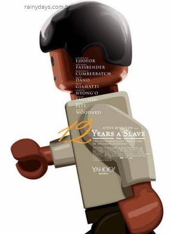 Poster 12 Anos de Escravidão em Lego