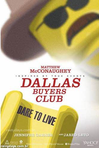 Poster Clube de Compras Dallas Lego