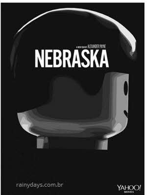 Poster Nebraska em Lego
