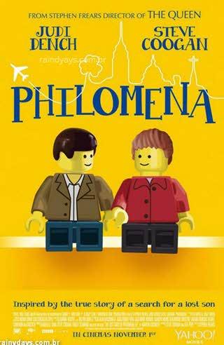 Poster Philomena em Lego