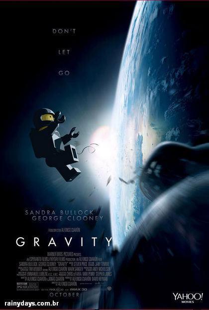 Posters dos Filmes do Oscar em LEGO