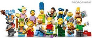 Bonecos Individuais dos Simpsons em LEGO