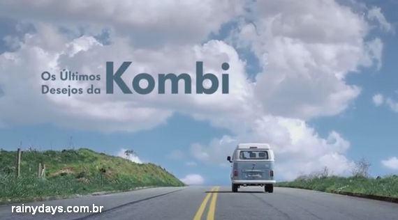Homenagem da Volkswagen para a Kombi
