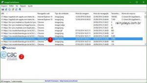 Ver imagens salvas no cache de todos navegadores do PC