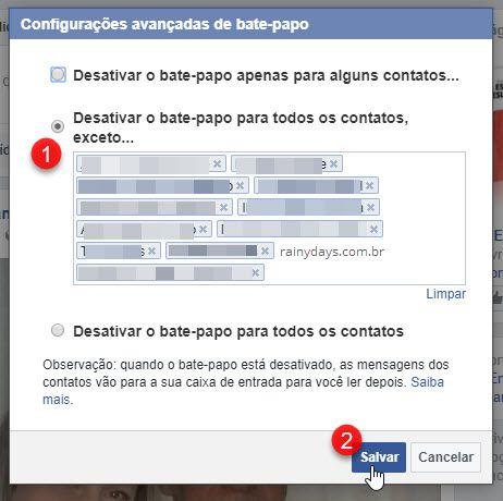 Como bloquear pessoas no chat do Facebook