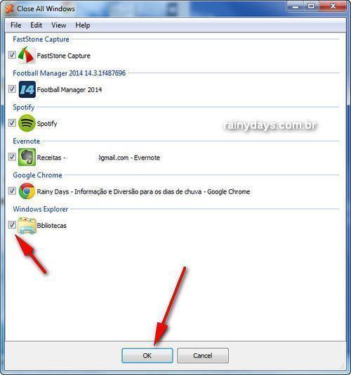 Fechar Vários Programas do Windows ao Mesmo Tempo