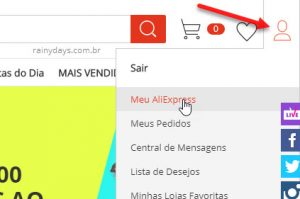 Como excluir conta da AliExpress