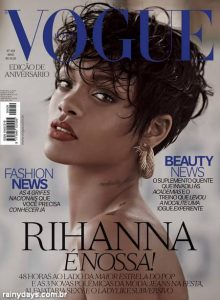 Rihanna na Vogue Brasil