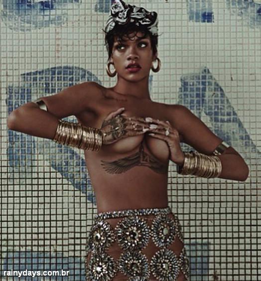 Rihanna na Vogue Brasil 2