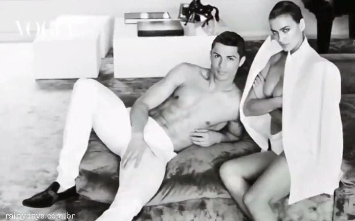 Cristiano Ronaldo e Irina Shayk na Vogue Espanha