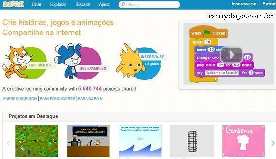 Como excluir conta do Scratch