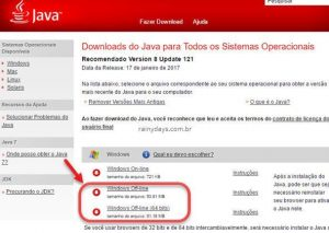 Instalador completo do Java offline (sem pegadinhas na instalação)