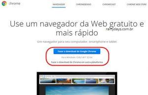 Instaladores offline do Chrome e Firefox