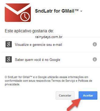 Agendar email do Gmail para enviar depois