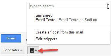 Agendar email do Gmail para enviar depois 6