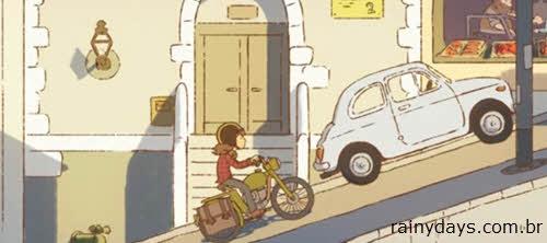 Curta de Animação Motorbike