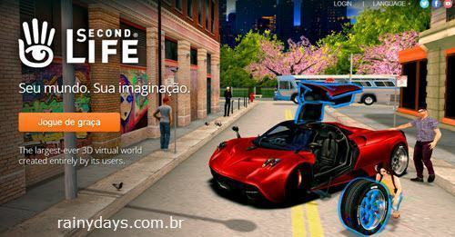 Excluir Conta do Second Life