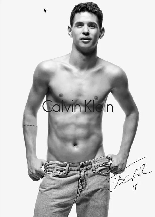 Oscar de cuecas para a Calvin Klein