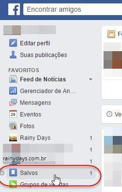 salvar posts do Facebook para depois 3