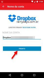 Verificação em duas etapas no Dropbox 7