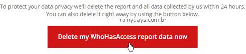 Apagar WhoHasAccess report Google Drive
