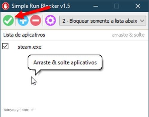 Como bloquear uso de programas específicos no Windows