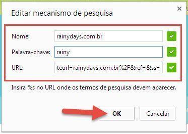 Criar Atalho de Busca no Chrome