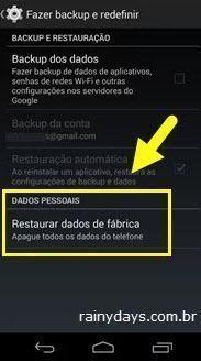 Formatar Smartphone Não Apaga
