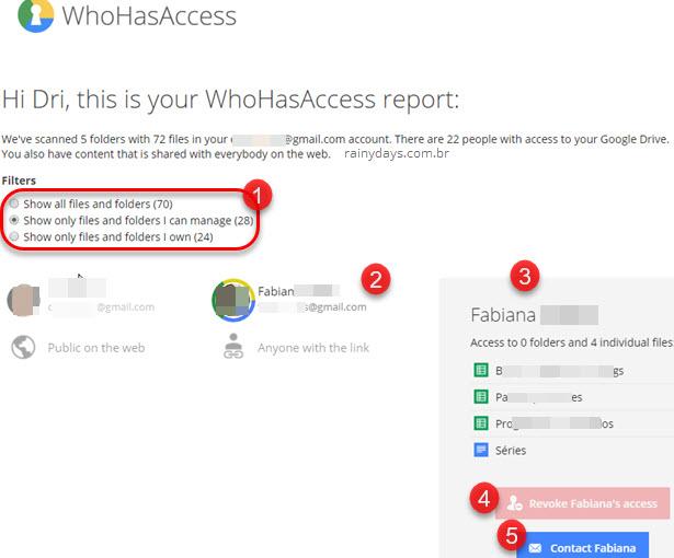 Veja quem tem acesso aos arquivos do Google Drive