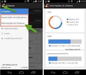 CCleaner para Android 2
