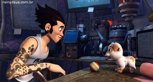 Curta de Animação Doug 'n' Dog