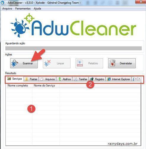 Remover barras de ferramentas e malwares do PC