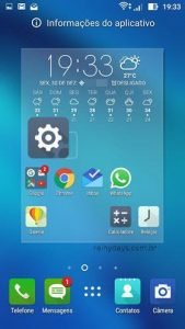 Como criar atalhos das configurações do Android na tela inicial
