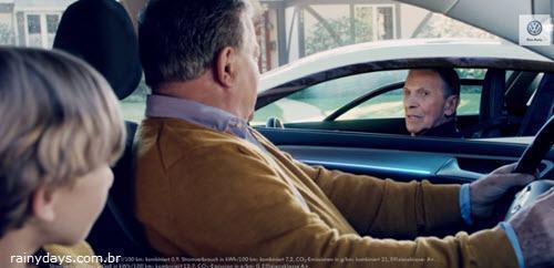 Capitão Kirk e Spock no Comercial da Volkswagen