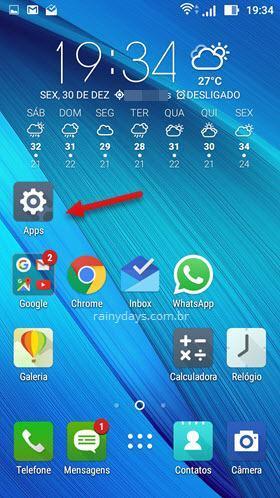 Como criar atalhos das configurações do Android