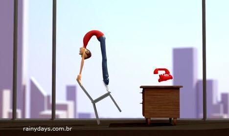 Curta de Animação Wake Up Call