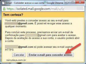 Como deixar outra pessoa acessar seu Gmail sem dar senha