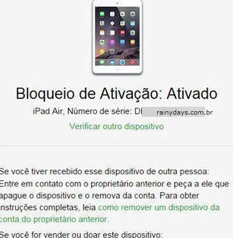 Descobrir se iPhone é roubado